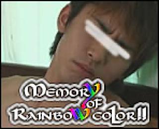 ゲイザーメン動画|Memory of Rainbow Color!!|パイパンペニス