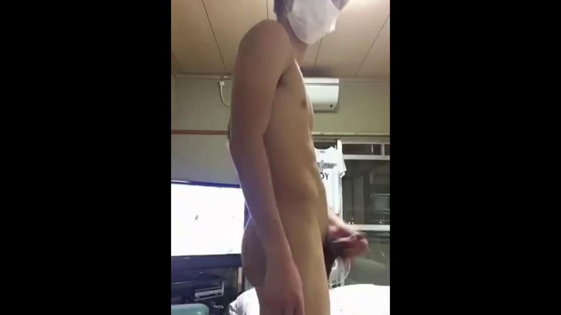 ゲイザーメン動画|巨根 オナニー塾Vol.17|モ無し