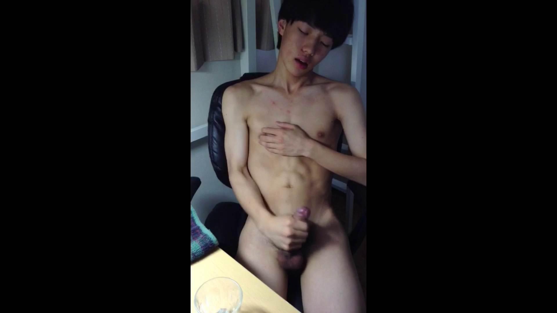 ゲイザーメン動画|ぎゃんかわ男子のはれんちオナニー vol.14|手コキ