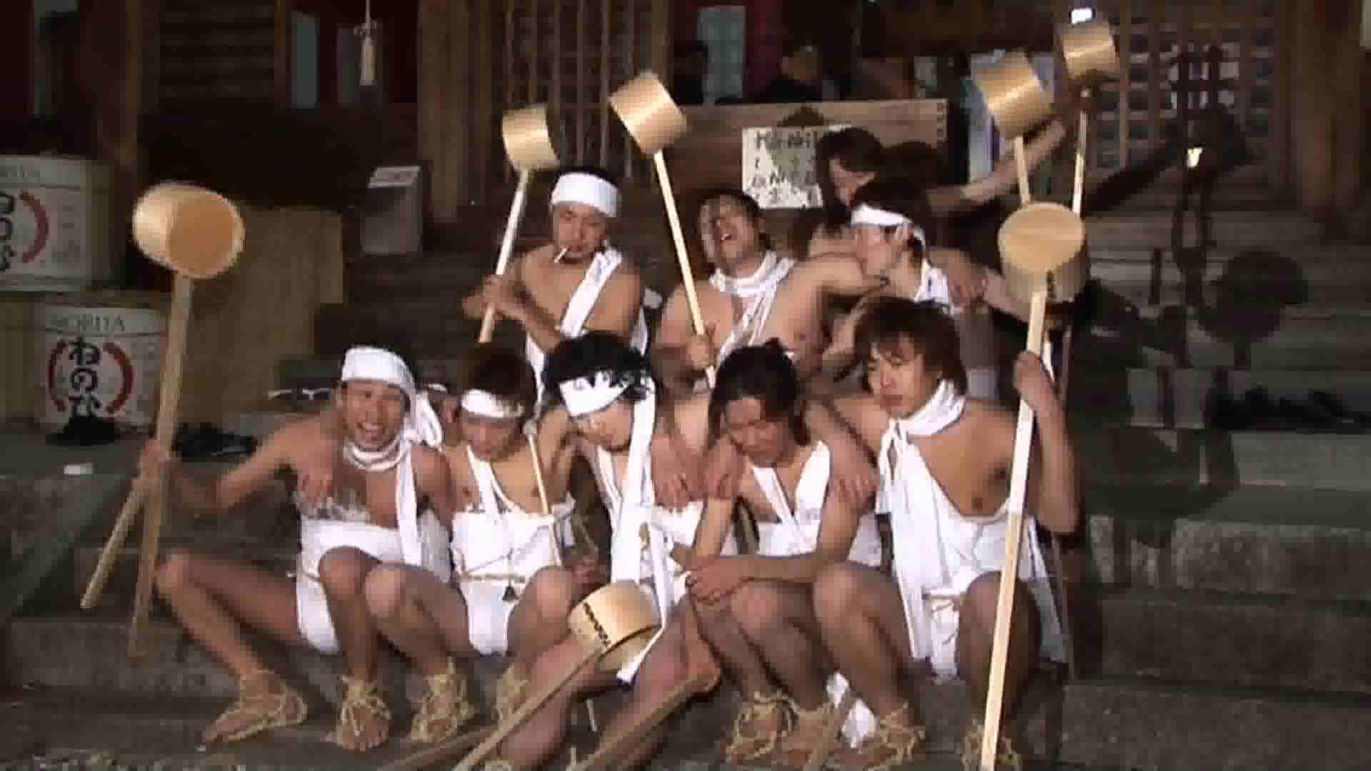 ゲイザーメン動画|日本の祭り第11弾!美●野●神社裸祭りハイビジョン編VOL.04|受け