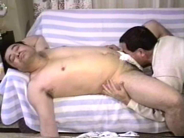 ゲイザーメン動画|おじさん'sオナニーからの~♪絡みです。前編|ふんどし