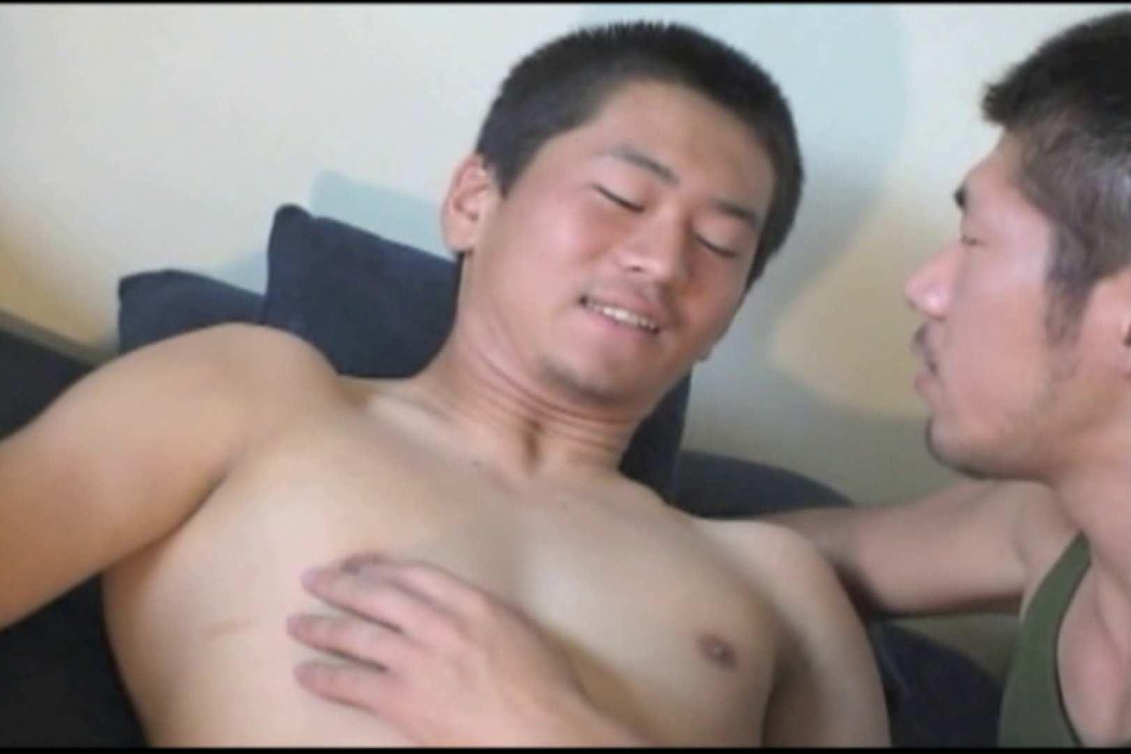 照れ顔が最高。少々緊張気味の体育会系男子。 裸 | 入浴・シャワー  86pic 26