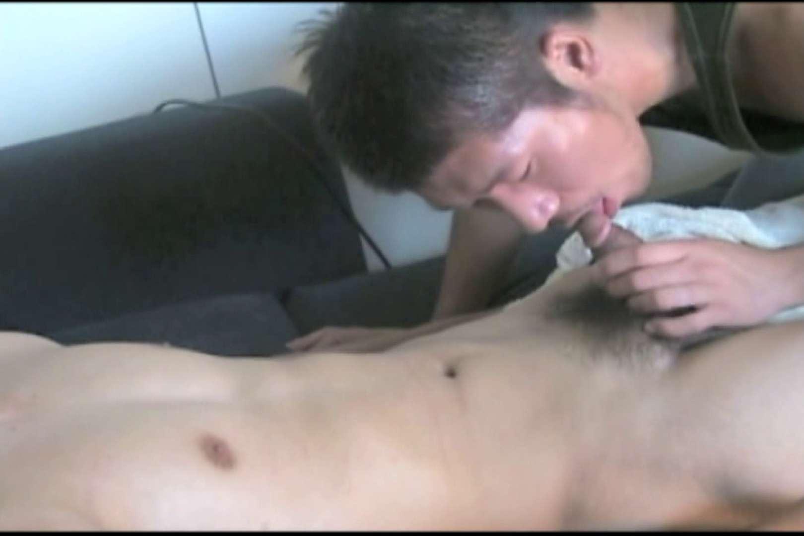 照れ顔が最高。少々緊張気味の体育会系男子。 裸 | 入浴・シャワー  86pic 43