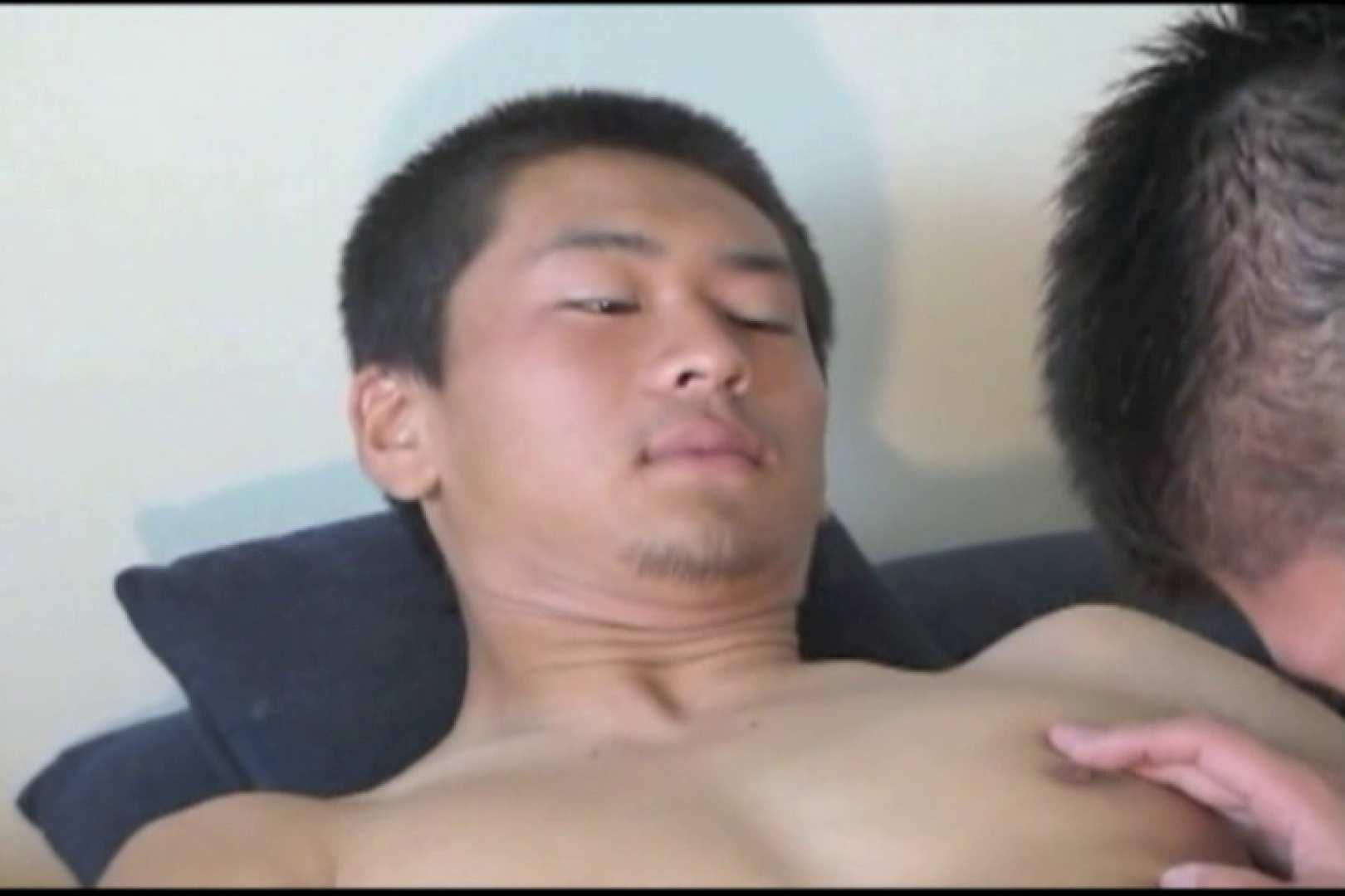 照れ顔が最高。少々緊張気味の体育会系男子。 裸 | 入浴・シャワー  86pic 67