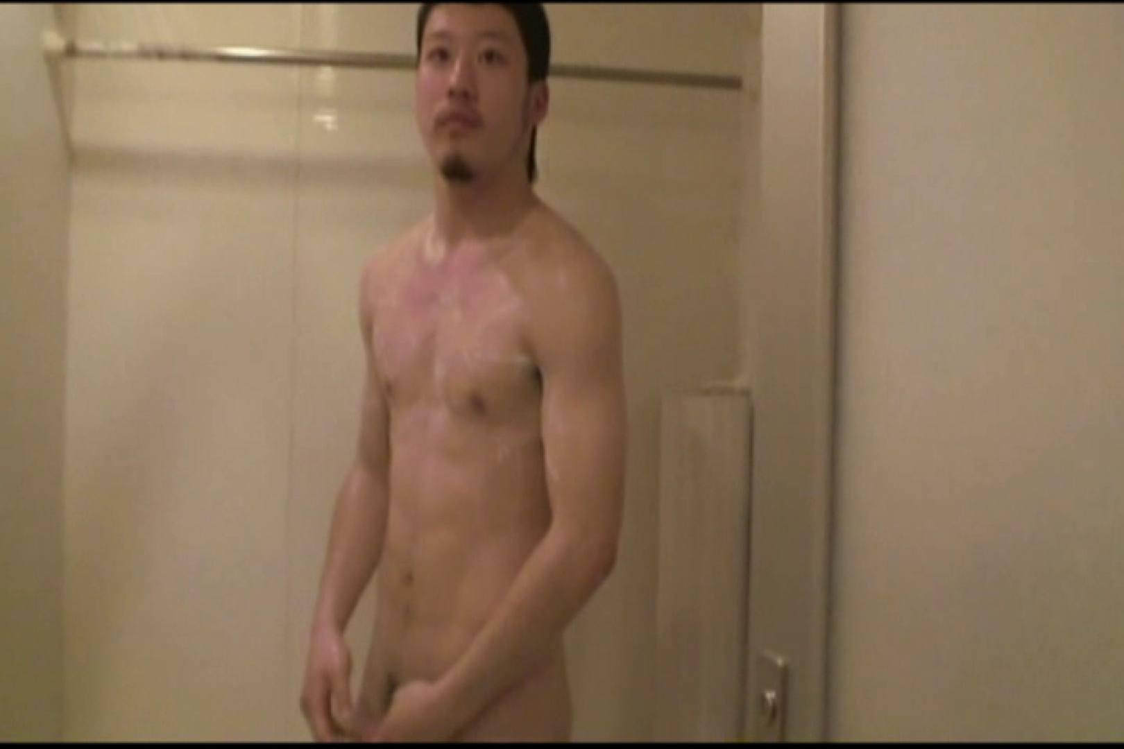 引き締まった身体で短髪イケメン君の自慰プレイ。 裸 | 入浴・シャワー  105pic 23